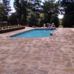 In ground Pool Patio